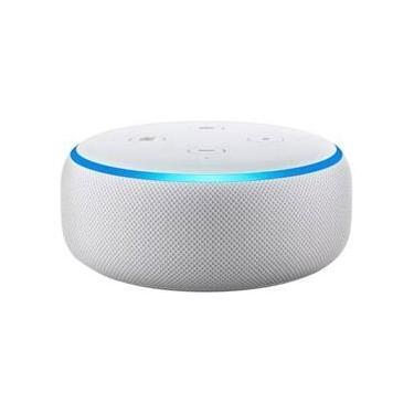 Smart Speaker - Amazon Echo Dot Alexa 3ª Geração Lacrado Branco