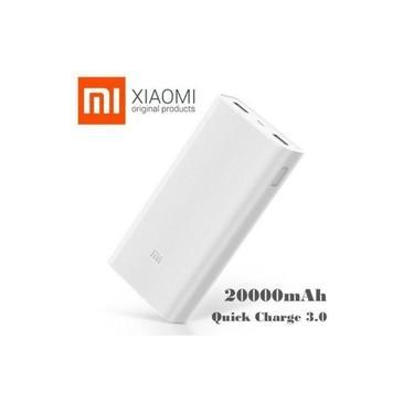 KIT Carregador Portátil Xiaomi 20000mah ULTRA RÁPIDO