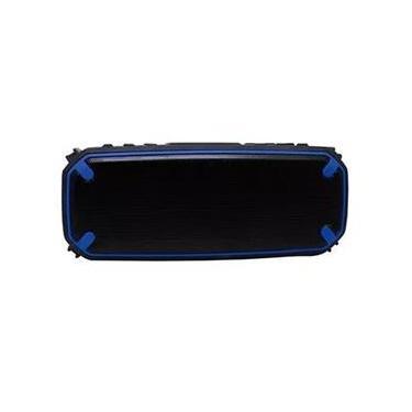 Caixa de Som Maxprint Power Bank 2 em 1 Sport - Preta/Azul