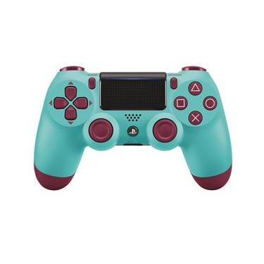 Controle Sony DualShock 4 PS4 - Berry Blue