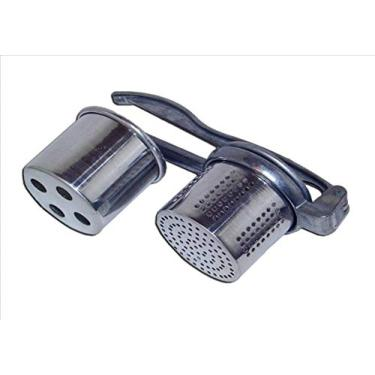 Imagem de Espremedor De Batatas Alumínio 2 Funções Purê Nhoqueira 3049