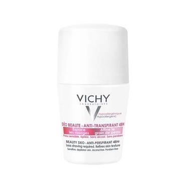Desodorante Antitranspirante Rollon 48H Deo Ideal Finish Vichy 50Ml
