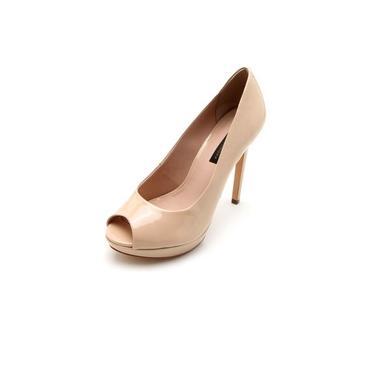 Sapato Jorge Bischoff Feminino Peep Toe - J31200004a05