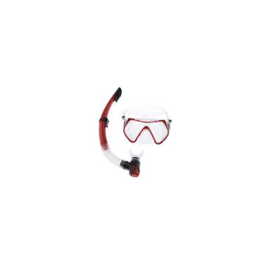 Imagem de Máscara De Mergulho Para Adultos Máscara De Mergulho Anti-fog Goggles Semi-Dry Snorkel Gear Set