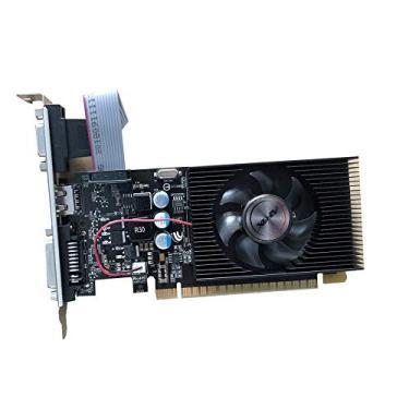 Placa de Vídeo AFOX GeForce, GT 730 4GB DDR3 HDMI DVI 128 Bits, até 2 monitores, AF730-4096D3L6