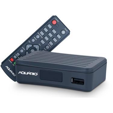 Imagem de Conversor e Gravador Digital HDTV Aquário DTV-4000S - Full HD - com Controle Remoto - USB, HDMI, RCA