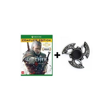 The Witcher 3 Wild Hunt: Complete Edition - Xbox One + Hand Spinner Prata Velha
