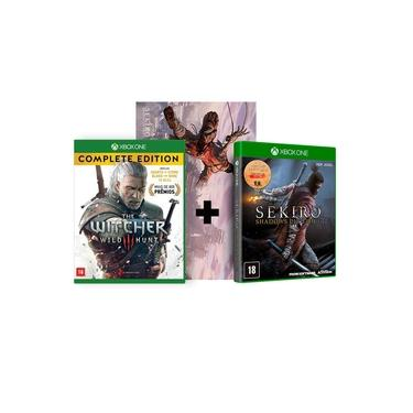 Combo Sekiro Shadows Die Twice + The Witcher 3 Complete Edition - Xbox One