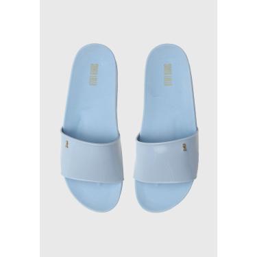 Rasteira Slide Santa Lolla Josi Azul Santa Lolla 0323.1277.0016.020A feminino