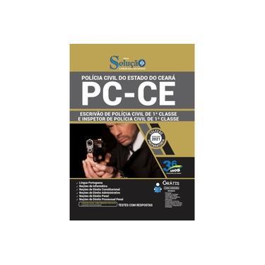 Imagem de Apostila PC-CE 2021 - Escrivão e Inspetor de 1ª Classe
