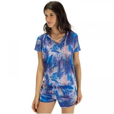 Camiseta com Capuz Vestem Foliage - Feminina Vestem Feminino