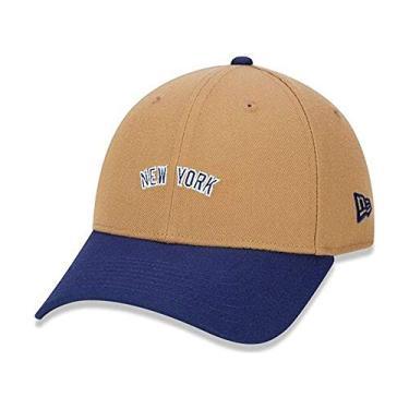 Boné New Era 9Forty New York Yankees - Bege e Azul