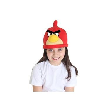 Gorro Angry Birds Vermelho