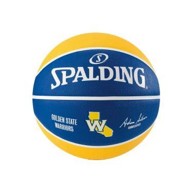 Bola de Basquete Spalding NBA Golden State Warriors Team - Azul Amarelo  Spalding 944da8ab0f513