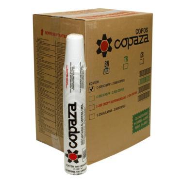 Copo Descartável 200ml Copaza Especial Transparente com 100 - 25 Unidades 1021823