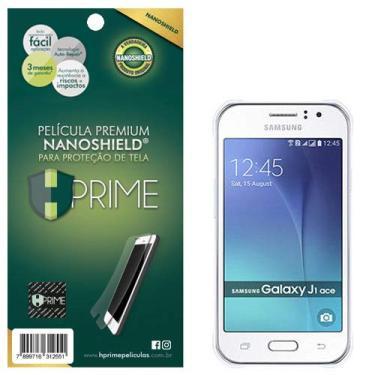 Pelicula HPrime NanoShield para Samsung Galaxy J1 Ace, Hprime, Película Protetora de Tela para Celular, Transparente