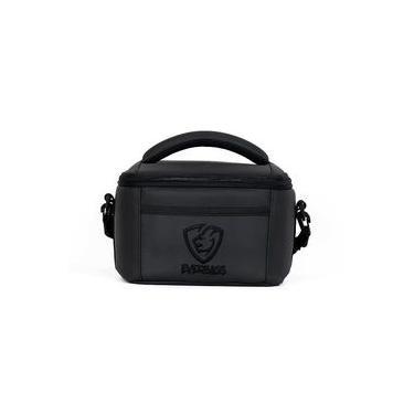 Imagem de Bolsa Térmica Porta Marmita Fitness Fit Lancheira Everbags Black Luxo