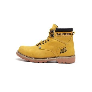 Bota Coturno Caterpillar Trivalle Shoes Amarelo