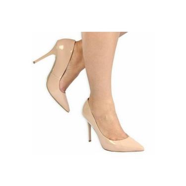 Sapato Feminino Uza Scarpin Verniz