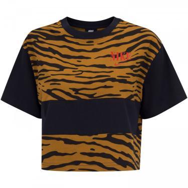Blusa Cropped Nike Essential Top SS - Feminina Nike Feminino