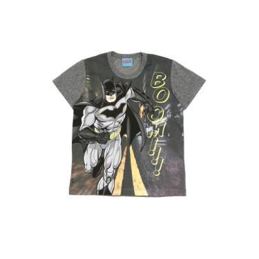 Camiseta Infantil Kamylus Batman Chumbo Kamylus