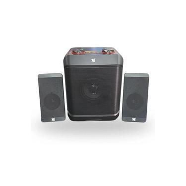 Caixa de Som Sound Master 2.1 c/ Subwoofer - Maxprint