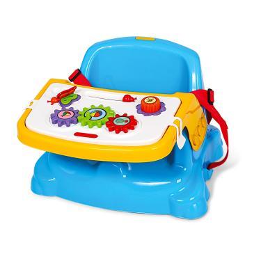 Cadeira Infantil Didática - Poliplac Azul