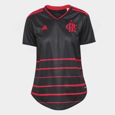 Camisa Flamengo III 20/21 s/n Torcedor Adidas Feminina