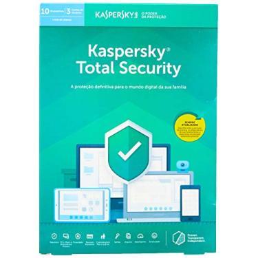 Kaspersky Total Security 10 Dispositivos, KL1949K5KFS