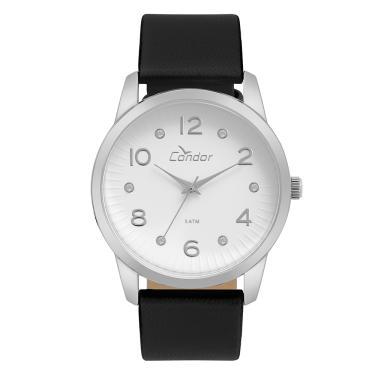 1ca43d608e49a Relógio Condor Feminino Eterna Bracelete Prata - CO2035KWF 2K CO2035KWF 2K