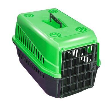 Caixa De Transporte n3 Para Cães E Gatos Grande - Verde