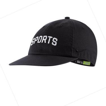 Boné Nike SB Heritage86 CAP Flatbill SSNL CI4466-010, Cor: Preto/Branco, Tamanho: U