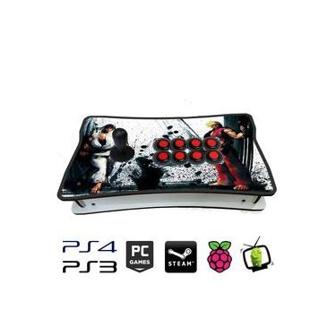 Controle Arcade Fliperama Placa Zero Delay PC / PS3 / PS4 / Pi3 / Fightcade RYU / KEN