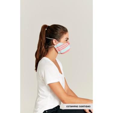 Kit De 2 Máscaras Em Tecido Sortido Malwee Único - Sortida