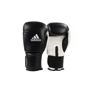 Luva de Boxe Muay Thai Adidas Power 100 Colors Preto/Branco