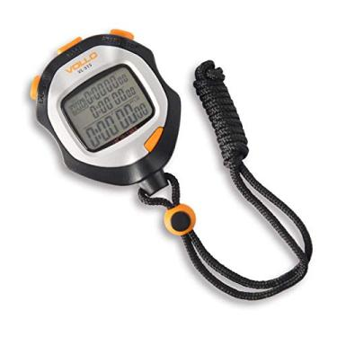 Vollo Sports Cronometro com 200 Memorias, Preto