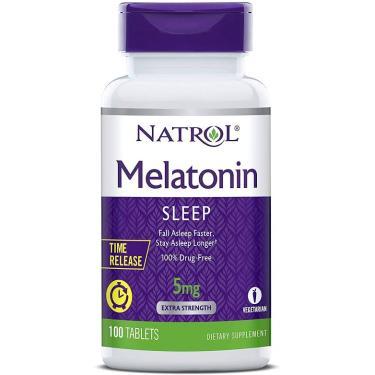 Melatonina 5mg Time Release - Natrol Natrol