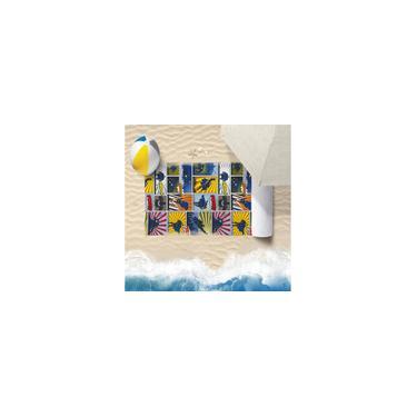 Imagem de Toalha De Praia 60Cm X 1,10M Infantil Anti Areia Heroes - Bene Casa