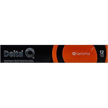Cápsulas de Café Qharisma - Intensidade 12 Delta Q, Compatível com Delta Q, Contém 10 Cápsulas