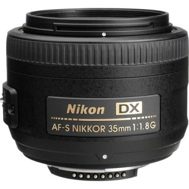 Lente para Câmera Fotográfica Nikon AF-S DX NIKKOR 35mm f/1.8G