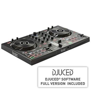Controladora DJ Hercules DJControl Inpulse 300, Hercules, 4780883, Preto