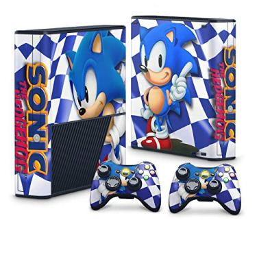 Skin Adesivo para Xbox 360 Super Slim - Sonic The Hedgehog