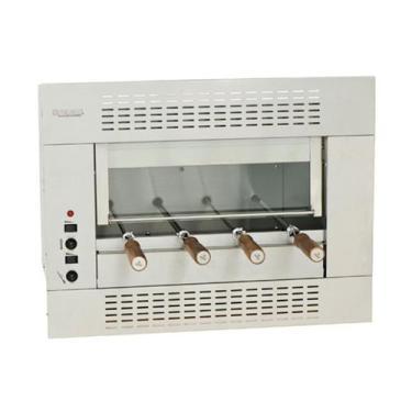 Imagem de Churrasqueira E Assador Elétrica 4 Espetos Embutir Gourmet 220V Felesa