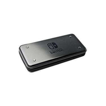 Case Alumicase Hori Para Nintendo Switch - Preto (Nsw-074U)