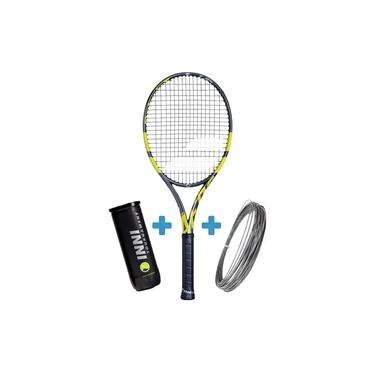 Raquete de Tênis Babolat Pure Aero VS + Brinde Bola e Corda