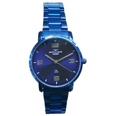 4f9b33520fb Relógio Feminino Backer Analógico 10269113F-AZ - Azul