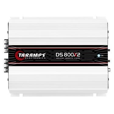 Módulo Taramps Ds 800x2 2 Ohms 800w Amplificador Automotivo