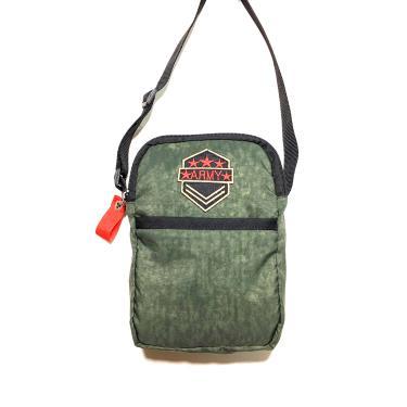Bolsa Broers Borges Shoulder Bag verde Militar  masculino