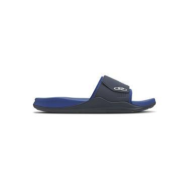 Chinelo Olympikus Masculino Slide Aruba 629 Marinho/Azul