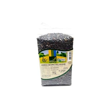Arroz Negro Selvagem Orgânico CooperNatural 1Kg